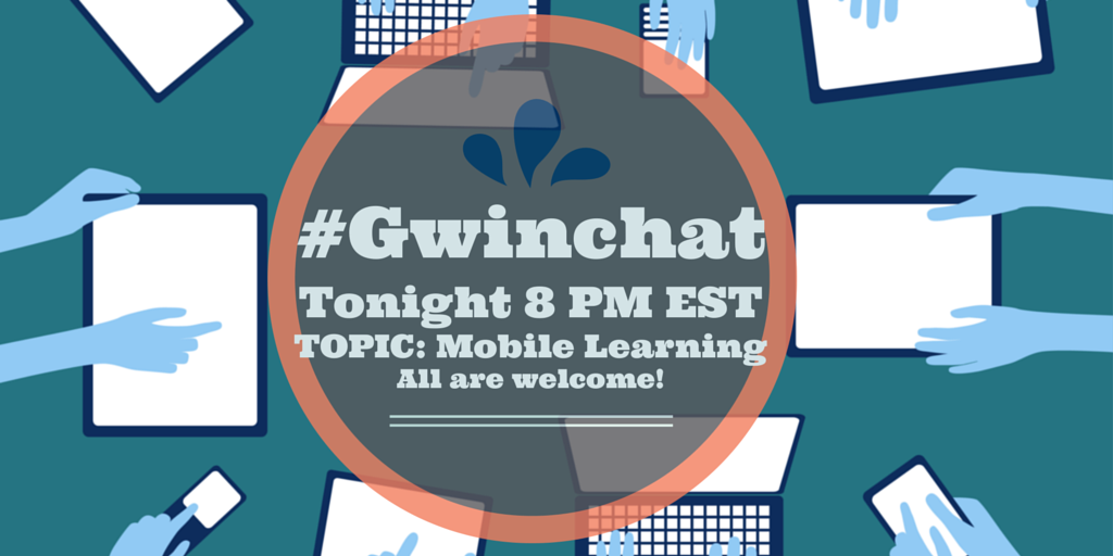 Hope you can make it tonight at 8 for a great discussion on Mobile Learning! #Gwinchat http://t.co/w9nke5A0z8