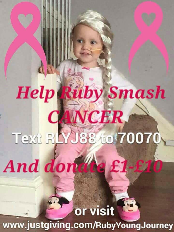 RT @rubylaurayoung: Hi @nickymcdonald1 my name is #Rubylaura, I'm 2 y/o & I'm very brave battling stage 4 #neuroblastoma Can I get a RT? ht…