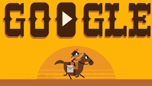 Pony Express: gioca con il doodle online per il 155° anniversario