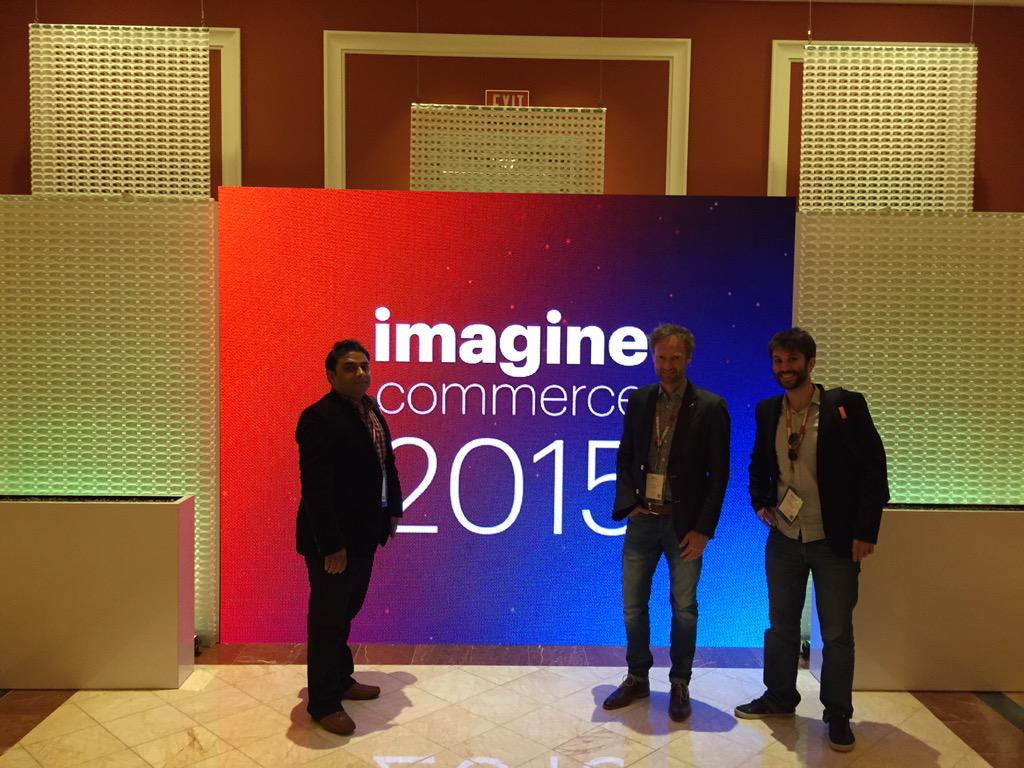 davidchaouat2: we are proud to represent  @IngenicoPayment  at #ImagineCommerce #MagentoImagine #LasVegas #WynnResort http://t.co/c1bYhfBy3R