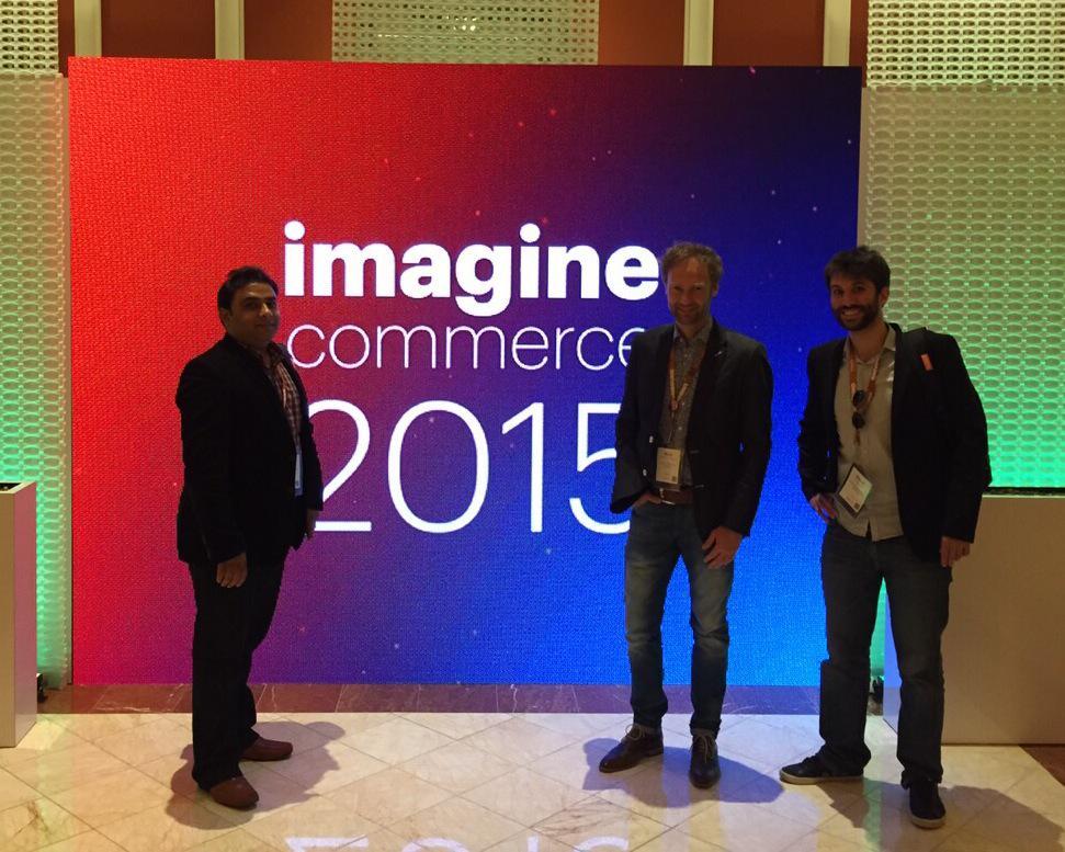 nvanmiltenburg: We are proud to represent @IngenicoPayment at #ImagineCommerce #MagentoImagine http://t.co/kaSsOQMO6e