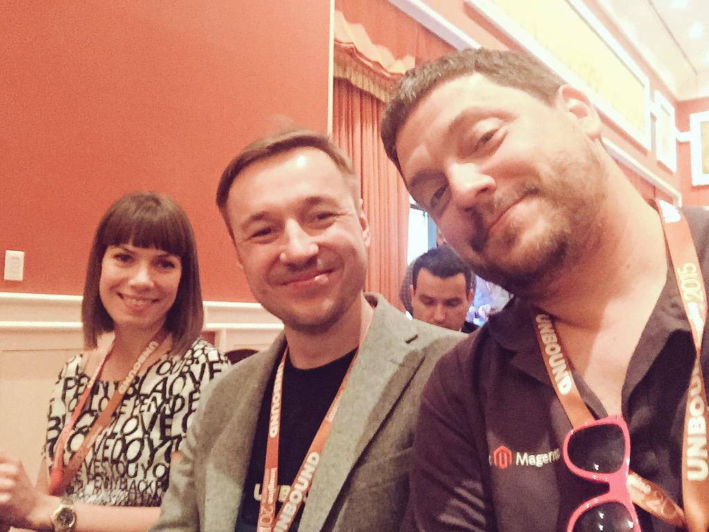 ignacioriesco: With my friends @aheadWorks, at Magento Partners Reception. #ImagineCommerce http://t.co/BOngAAYe2T