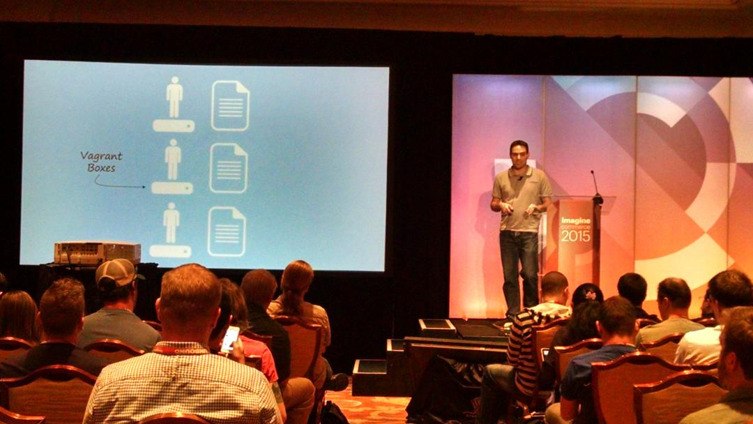barbanet: Mr. @fbrnc talking about CI #ImagineCommerce http://t.co/Q2DkxzKyMx