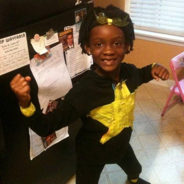 Pleasing Buzzfeed On Twitter This Little Girl Made A Superhero Comic Natural Hairstyles Runnerswayorg