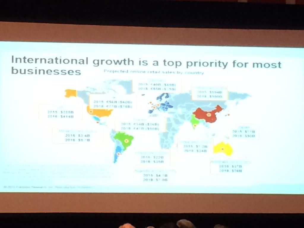 brpressley: Forrester expects Chinese online spend to reach $1T by 2018 - impressive compared to the US at $400B #imagine2015 http://t.co/qqg94P0bFv