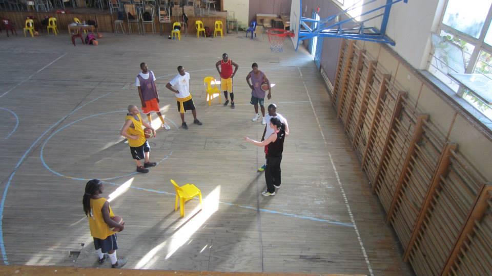 #TBT Coaching in Windhoek with men's sen...