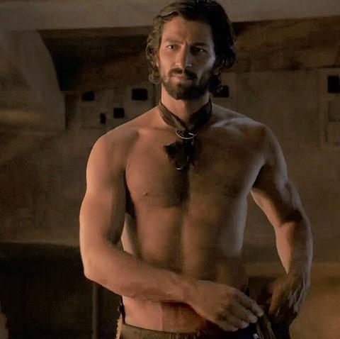 Richard castillo desnudo calor