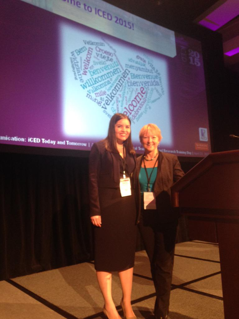 And here we go! @DrJennyThomas and Anthea Fursland kick us off. #ICED2015 http://t.co/ShdQswztzE
