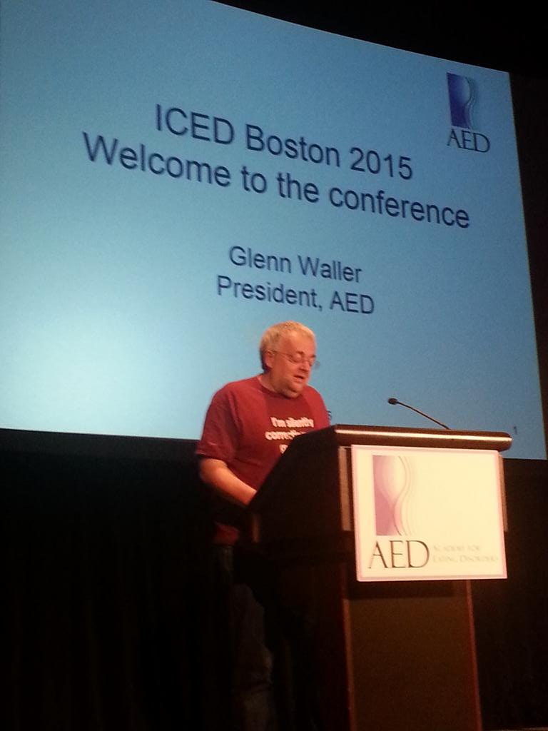 A presidential address by Glenn Waller at #ICED2015! http://t.co/yQCNqyqlWj