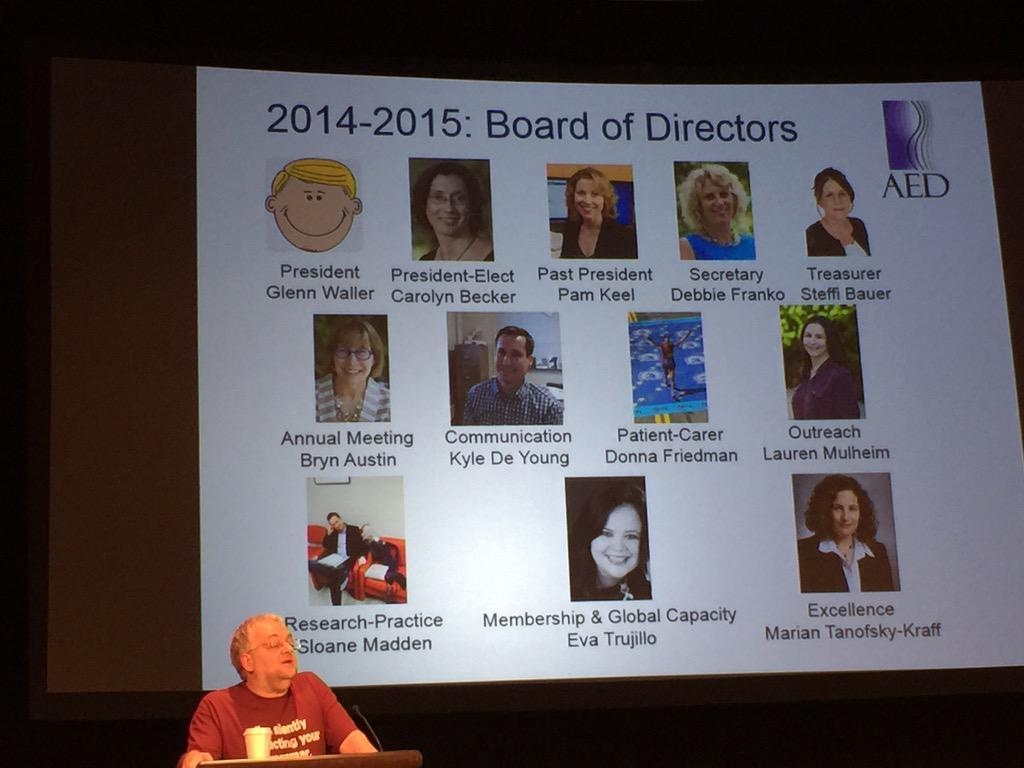 Glenn Waller thanks the board of directors #ICED2015 http://t.co/Joyis3wPew
