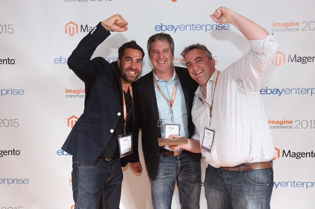 7php: Yes!!! @redboxdigital awarded partner of excellence for 2nd time in a row at #ImagineCommerce #Imagine2015 #magento http://t.co/uOfdAXoh1g