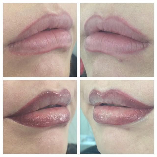 До и после ПМ #перманентный макияж #исправлениечужойработы#татуажгуб #перманентгуб #перманентуланудэ #татуажуланудэ…pic.twitter.com/5HEX86RH7s