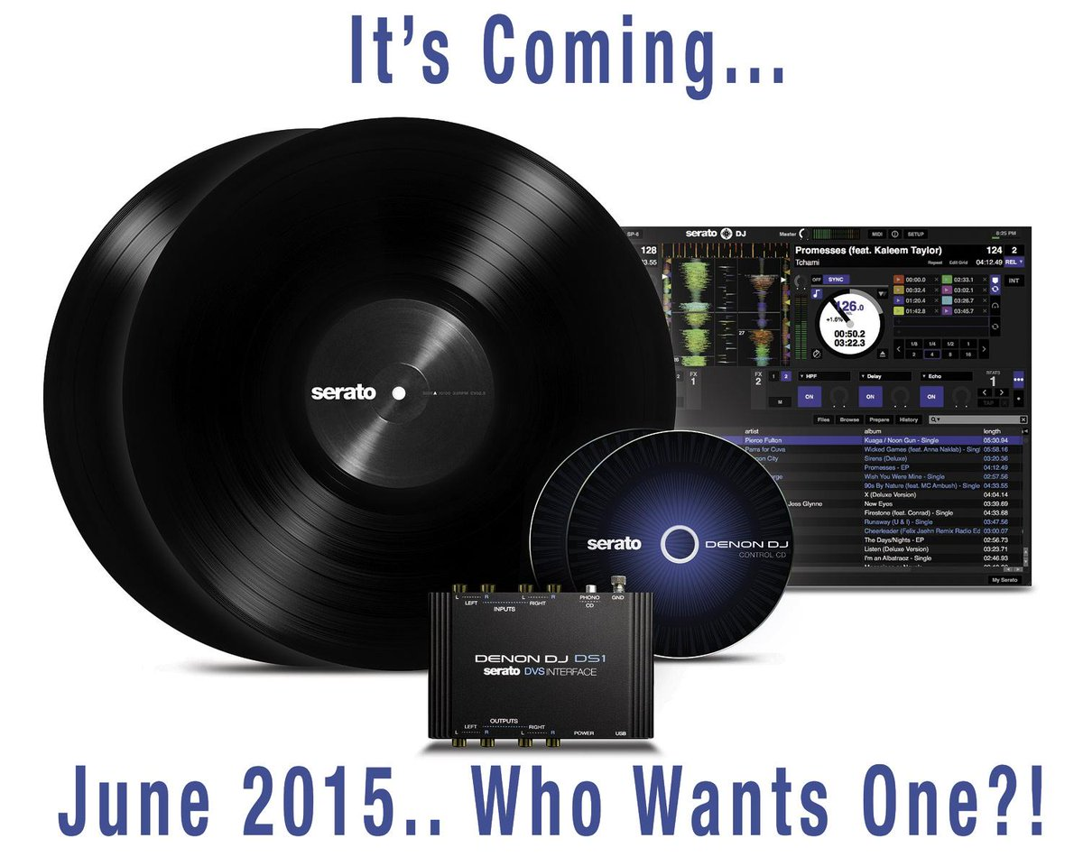 It's coming - June 2015 - Who wants one? #DS1 breakthrough @Serato #DVS Interface http://t.co/cPX446MoD0