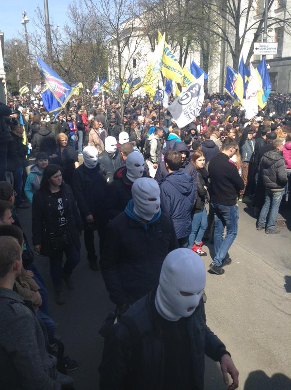 В Киеве продолжаются массовые митинги и пикеты горняков с Западной Украины и Донбасса - Цензор.НЕТ 2943