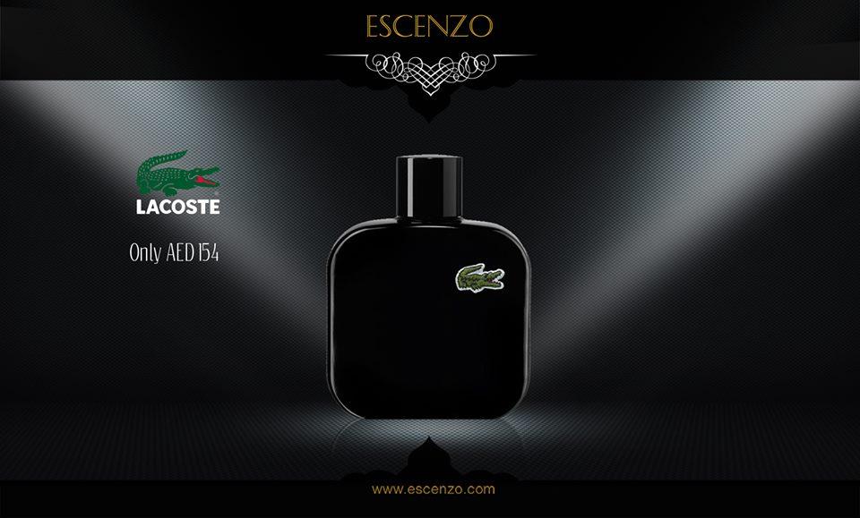 50ccb5451 #Lacoste #Eau #De #Lacoste L.12.12 #Noir for #men only 154 AED #عطر #لاكوست  #الاسود #للرجال الآن فقط 154 درهمpic.twitter.com/uJOx1deAys