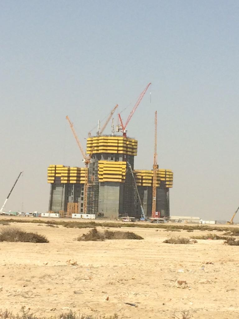 Пять километровых небоскрёбов, которые уже строятся или планируются