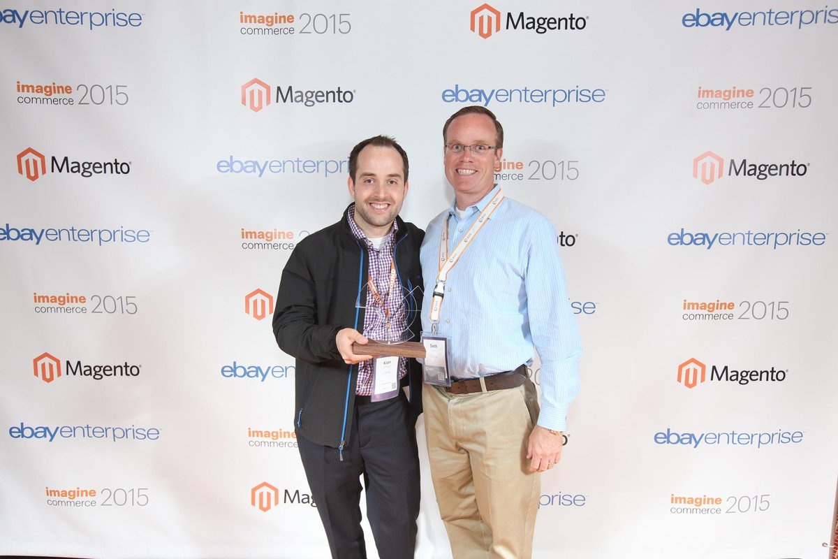aoepeople: Great News: @AOE was awarded #Omnichannel Partner of the year by @eBayEnterprise at #ImagineCommerce http://t.co/EBX1PT36da
