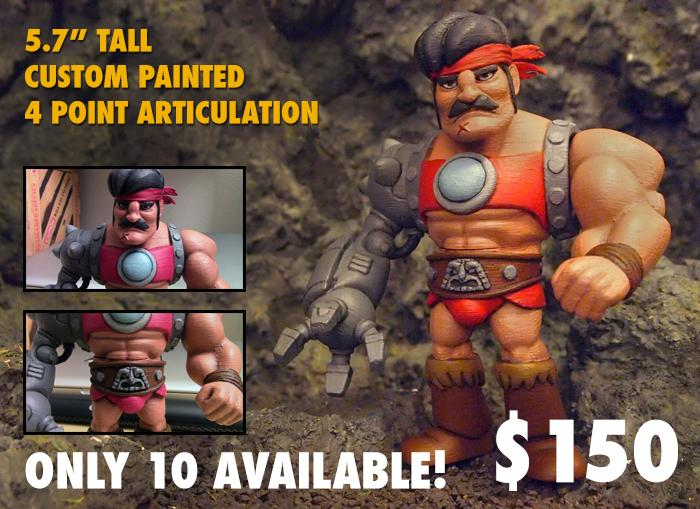 Only thing more rad than Bronarr in cartoon form? Bronarr in action figure form!!! http://t.co/RtOaP0ZAsD http://t.co/wEx2FRxEh5
