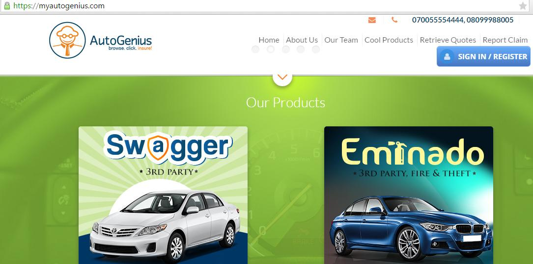 .@MyAutoGenius is #Nigeria's No. 1 Online & Mobile Insurance Platform: http://t.co/TK144HxvpO. #AlderFeature http://t.co/Wm3jrxV9iF