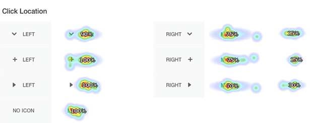 Testing Accordion Menu Designs & Iconography http://t.co/4IZQ6RwW1q #ui #ux #rwd http://t.co/WmNs2UiaOX