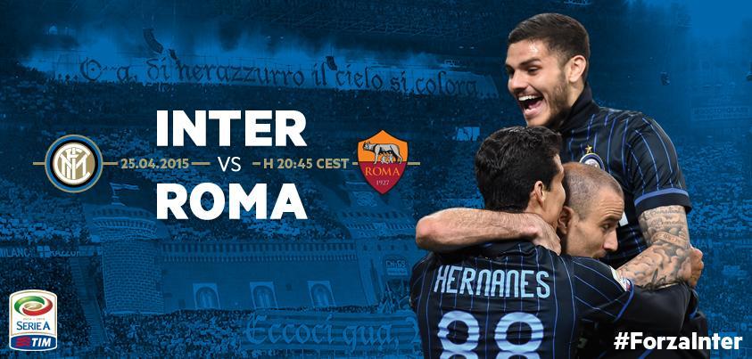 INTER ROMA Risultato Diretta Live VIdeo Gol temporeale Calcio Serie A.