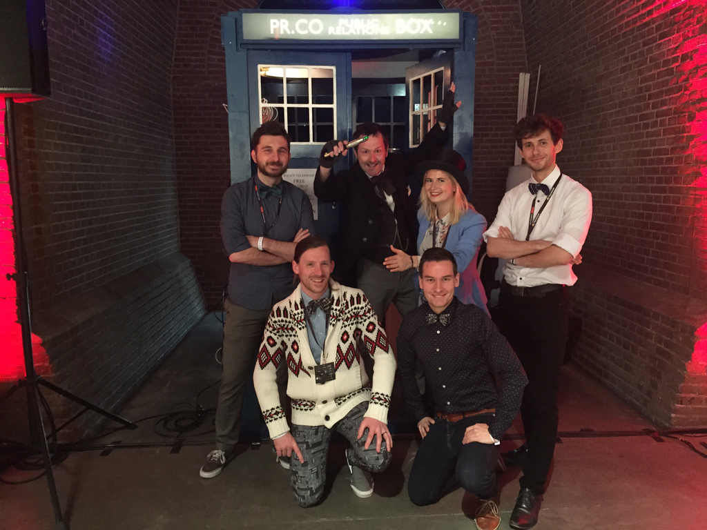 Find the Tardis. Get in. See some magic happen. #TNWEurope #DrWho @TNWconference http://t.co/8g29QVCKoy