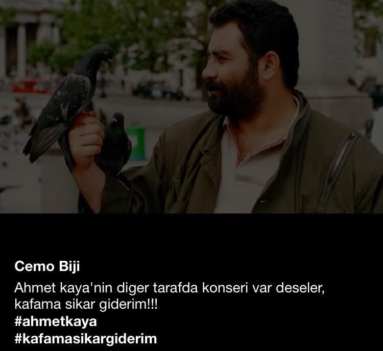Cmfstk Auf Twitter Ahmet Kaya Nin Diger Tarafda Konseri Var