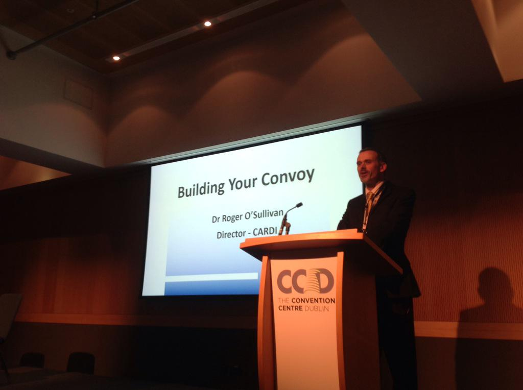 Now Roger O'Sullivan, Director of the Centre for Ageing Research & Development in Ireland #CochraneAdvocate http://t.co/OxdbjonnMb
