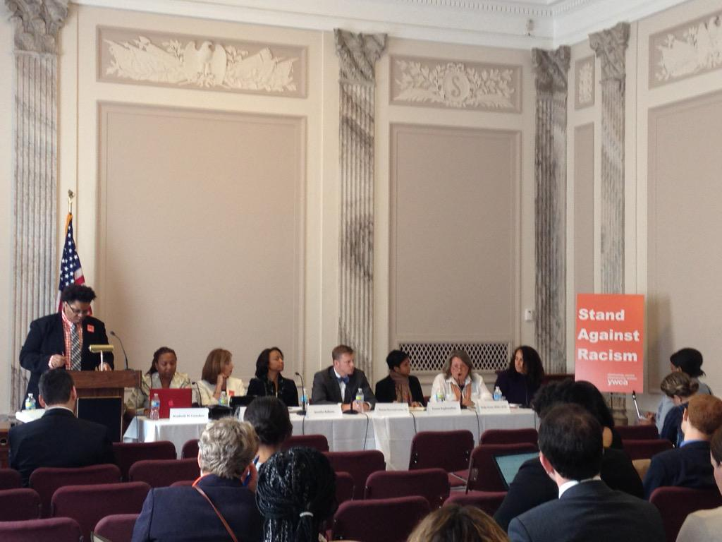 So proud to be here at the #StandAgainstRacism briefing on #woc as targets of #racialprofiling! http://t.co/aKGjsivTa8