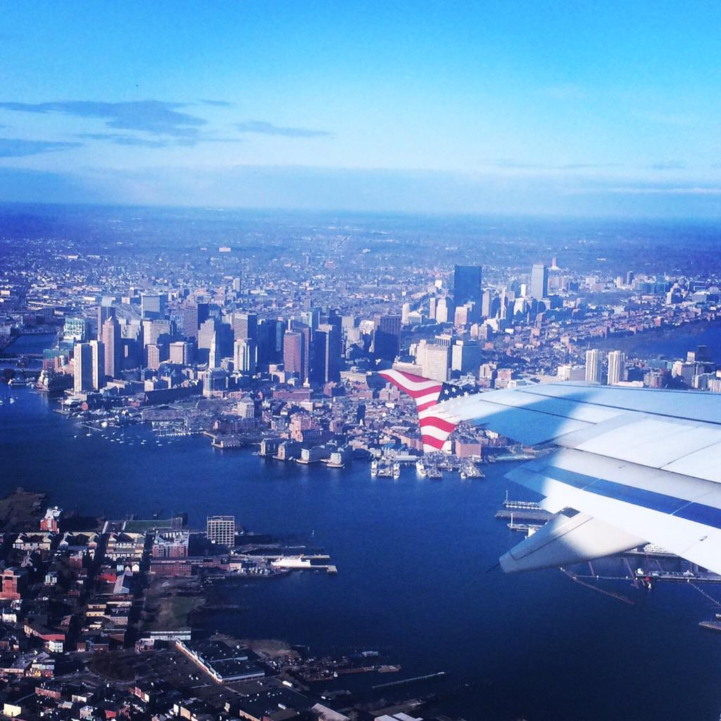 Gorgeous view of #Boston this morning @cathaypacificUS @HongKongTourism #travel #CXBOStoHKG http://t.co/SfwBnOVhjO