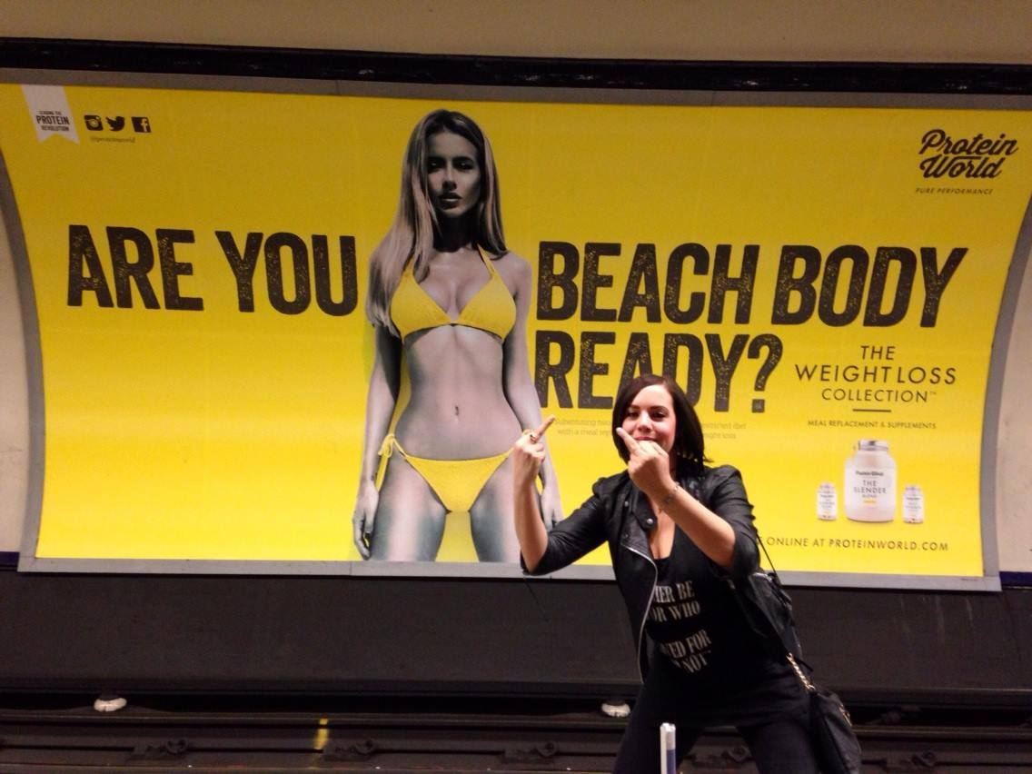 "Thousands of People Want These ""Beach Body"" Ads to Be Taken Down"