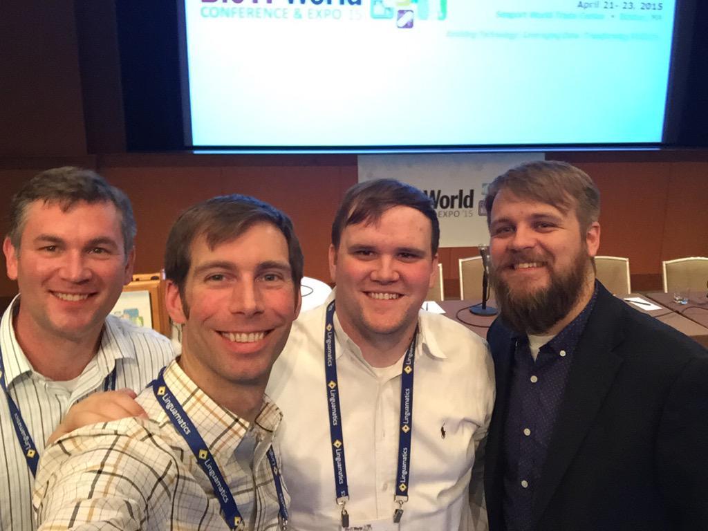 Great presentation at #BioIT15 by the @hudsonalpha team - Andrew Crouse, @kruz,  @peytonmcnully http://t.co/4L7uRqkUBn