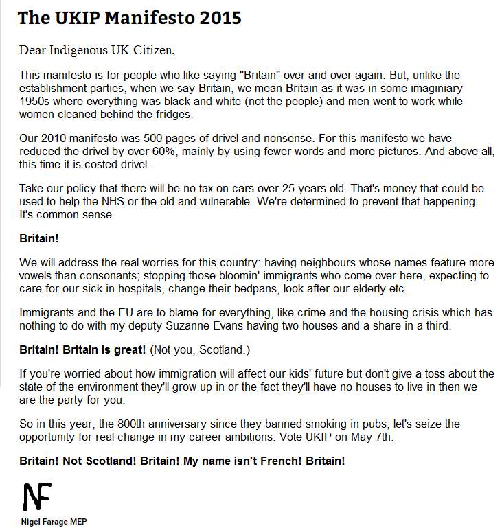RT @Jason_Spacey: The first page of the Ukip manifesto makes interesting reading (Done with @davidschneider) #bbcqt http://t.co/Dt6auFFvMH