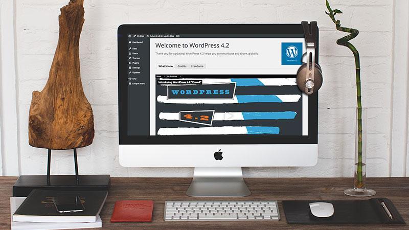 WordPress 4.2 versione ita: novita' tecniche emoji download e aggiornamento