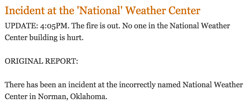 You're definitely an asshole when you rag on a buildings name in an article about a deadly incident. http://t.co/28nMnMAbCx
