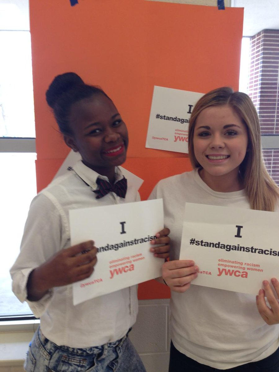 @YWCAtca #standagainstracism http://t.co/wPrCyF1ERn
