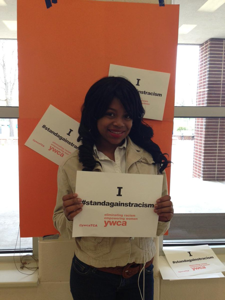 @YWCAtca #standagainstracism http://t.co/ezHtnsyBBA