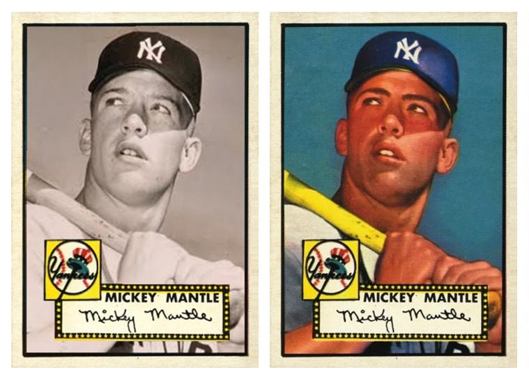 Bottomms Cards On Twitter 1952 Mickey Mantle Rookie Card In The