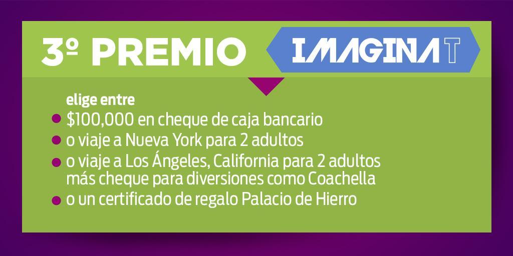 Si tienes el boleto 036370 del 3° Sorteo #ImaginaT ¡Eres el ganador del tercer premio! http://t.co/jzo3MPOoiI