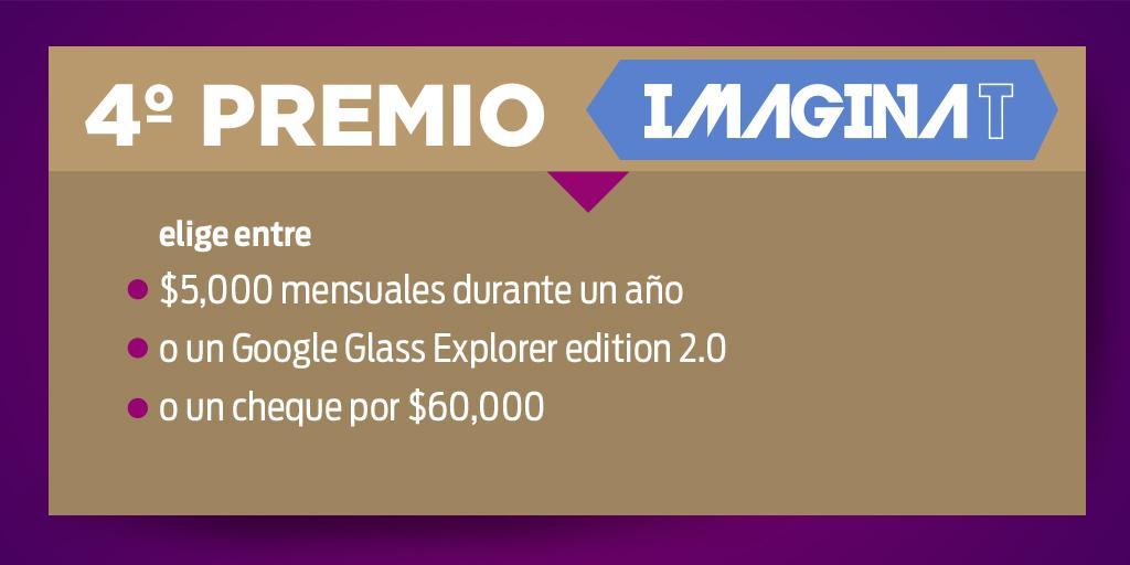 El 4° premio de este 3° Sorteo #ImaginaT es para el boleto 032641 ¡Felicidades! http://t.co/R1GDtShcc2