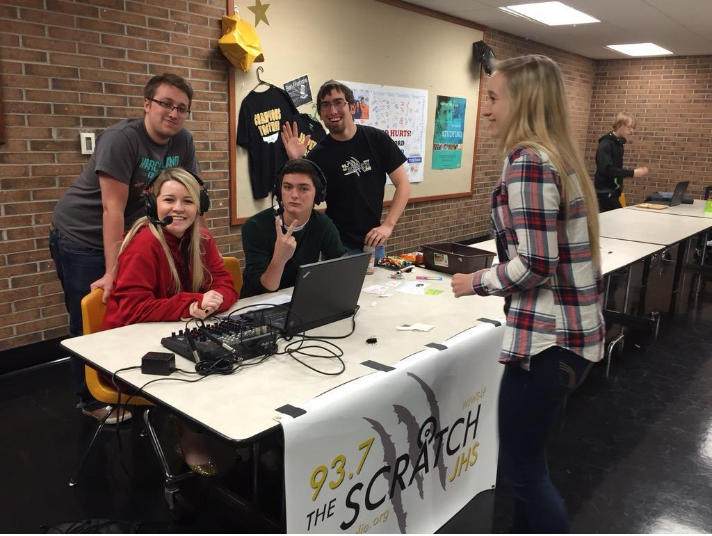 How cool would it have been to have a radio station in your high school? http://t.co/2pnCppXwfK http://t.co/ZSyAOlbg1Q