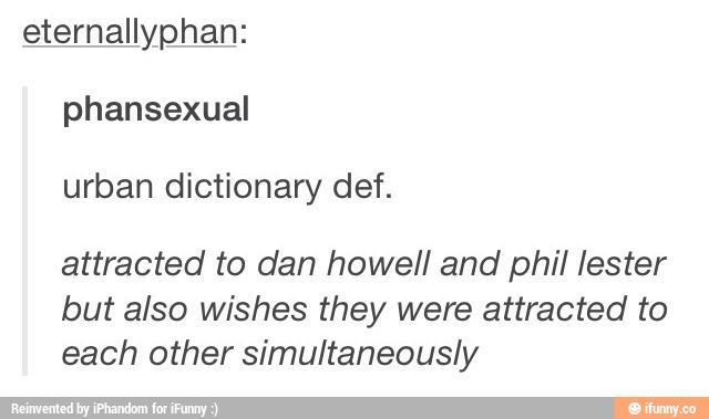 define phansexual