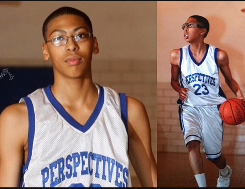 Sophomore Anthony Davis Photo Before Growth Spurt ...  Sophomore Antho...