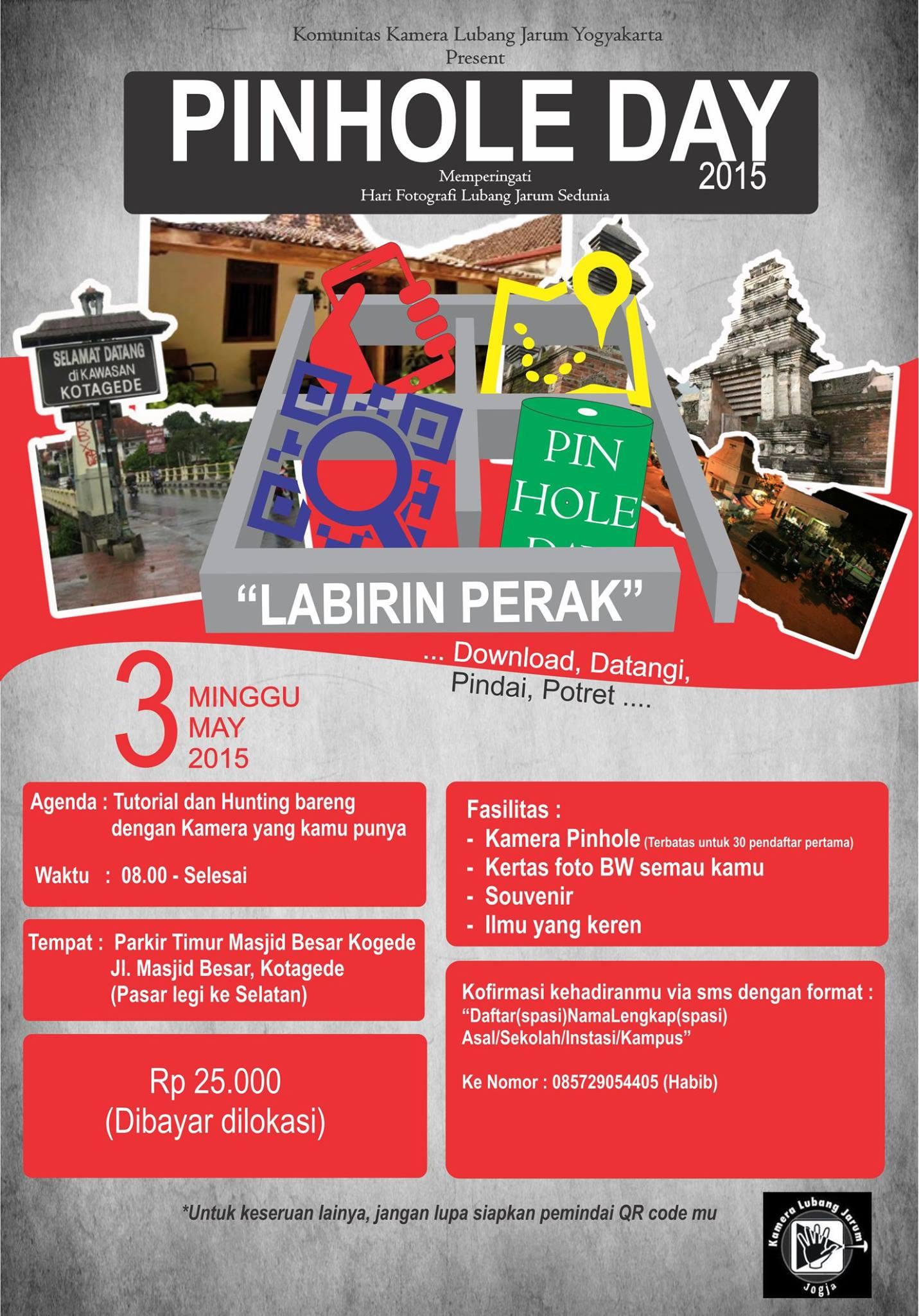 Acara Komunitas Lubang Jarum Jogja 3 Mei 2015