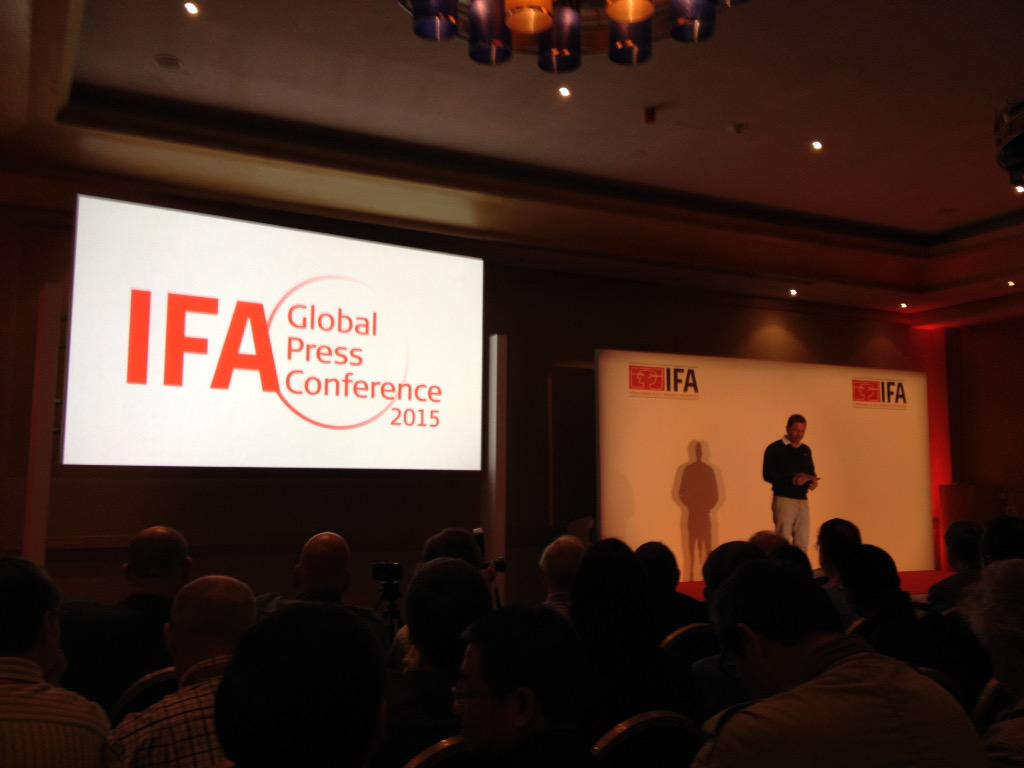 Thumbnail for IFA Global Press Conference 2015
