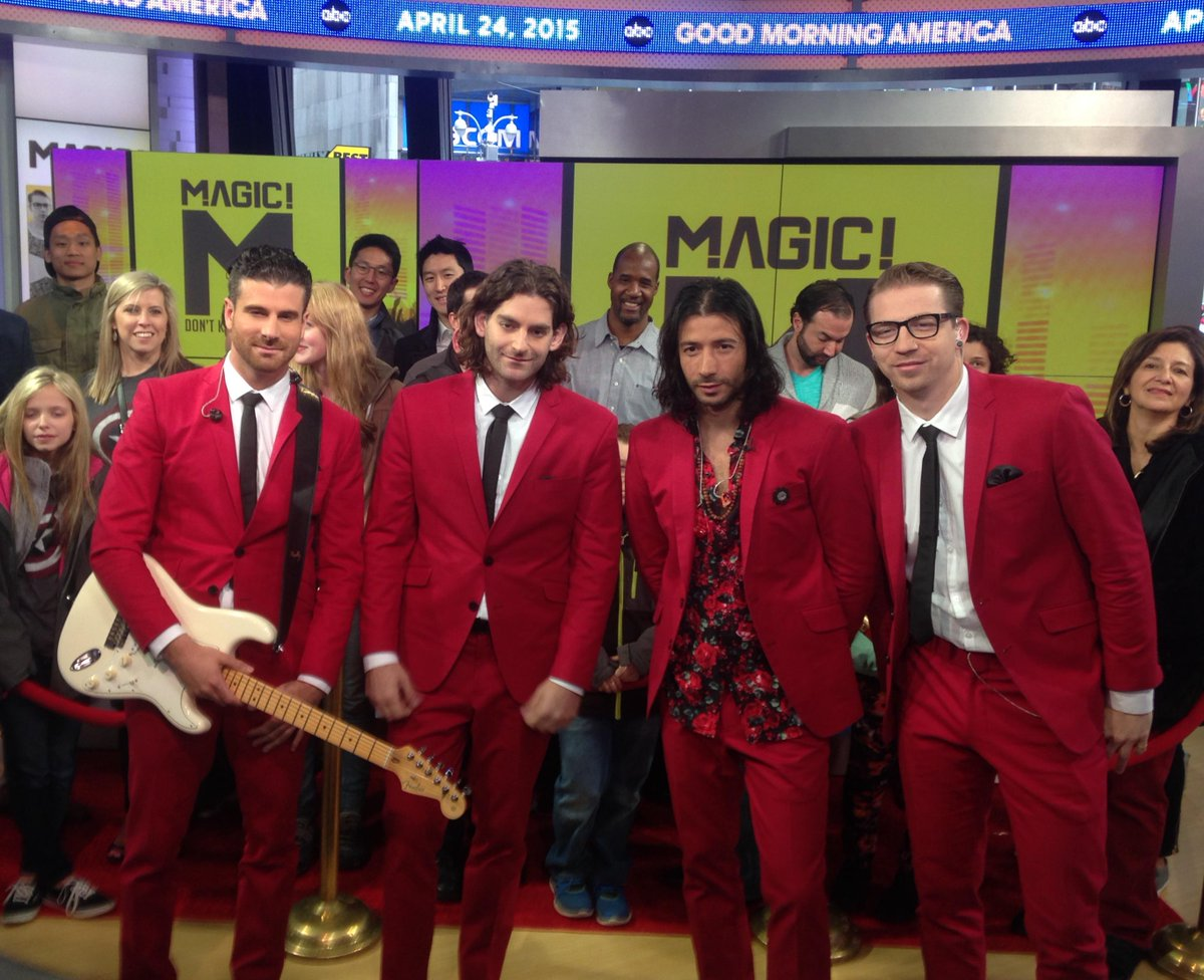 No way no... @ournameismagic! is performing right now ...