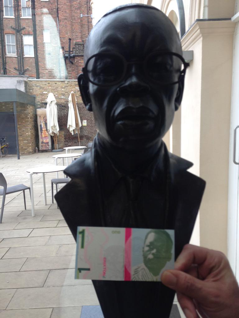 Len Garrison, founder of @bcaheritage - on statue and on B£1 note http://t.co/J5ljUaG4UK
