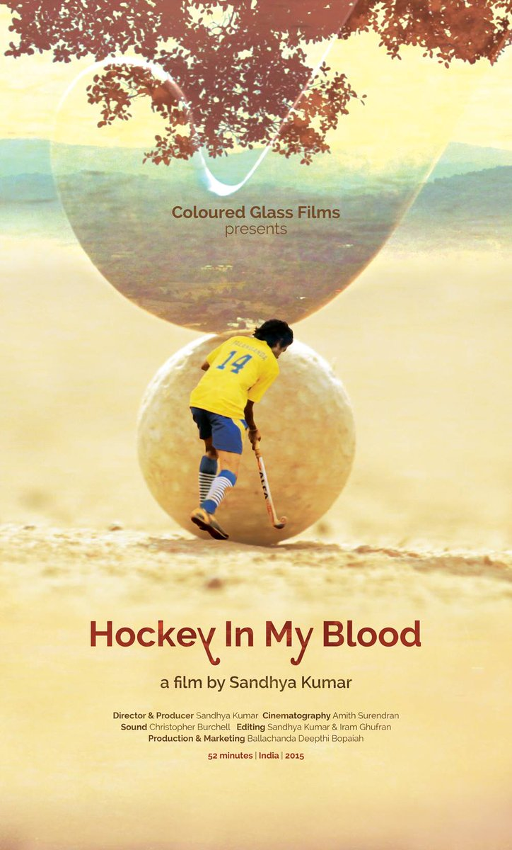 Film about World largest #hockey tourney will premiere on7th May in Coorg. http://t.co/QgpZbGd4oq Great Work #SandhyaKumar @DeepthiBopaiah