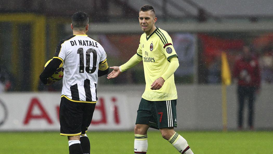 Diretta Tv live: Udinese Milan Rojadirecta Streaming Calcio Serie A 25 aprile