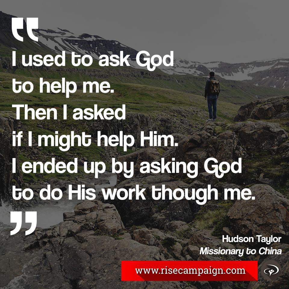 "ywam on twitter: """"i used to ask go to help me. then i asked if i"